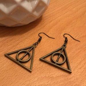 Jewelry - Bronze Harry Potter Earrings